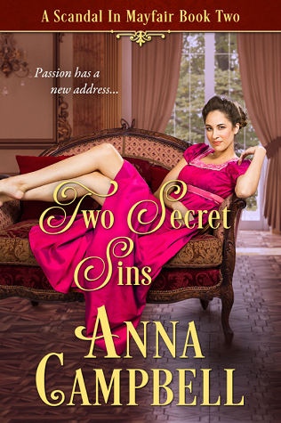 Two Secret Sins by Anna Campbell