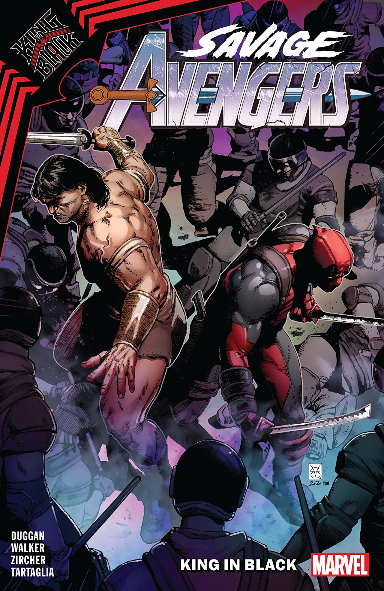 Savage Avengers, Vol. 4: King in Black