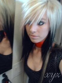 blonde emo girl Pictures, Images and Photos