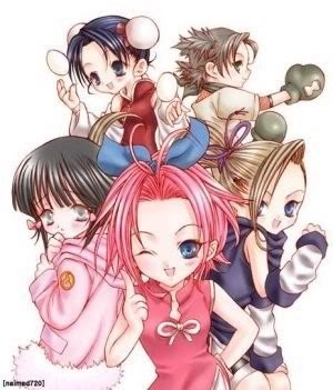 Naruto Chibi Girls Pictures, Images and Photos