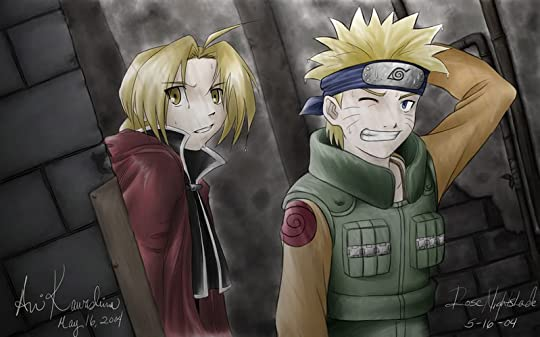 FMA and Naruto Pictures, Images and Photos