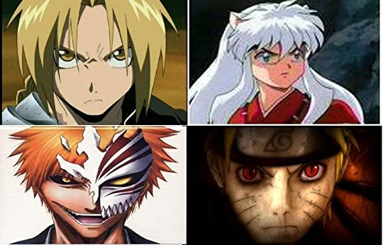 fma inuyasha naruto and bleach Pictures, Images and Photos