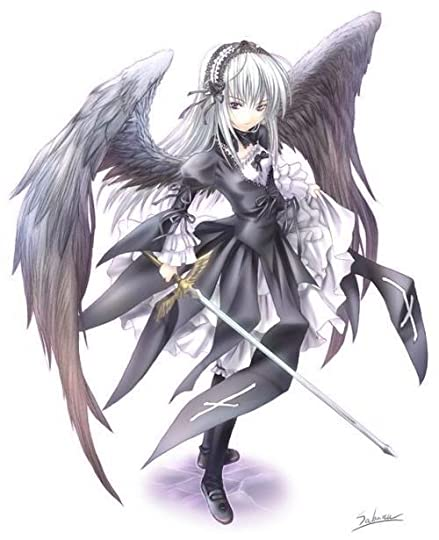 emo anime with wings Pictures, Images and Photos