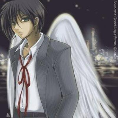 anime guy with wings Pictures, Images and Photos