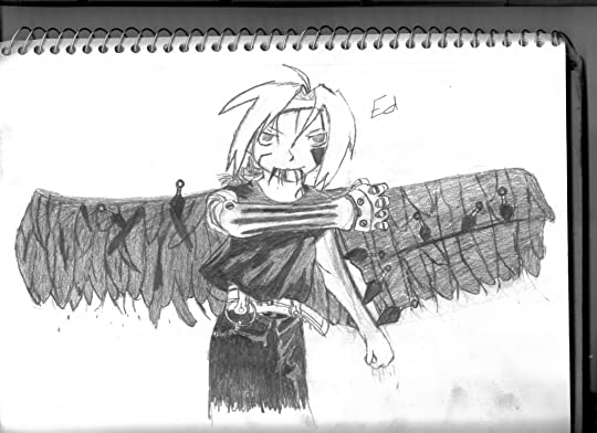automail,ed,elric,blood,anime,wings