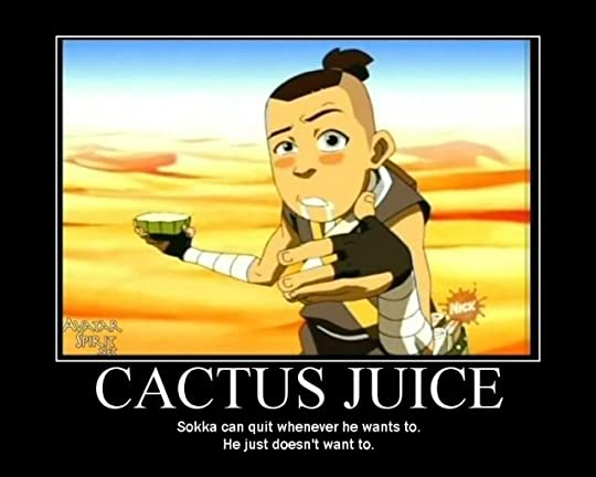 sokka on cactus juice Pictures, Images and Photos