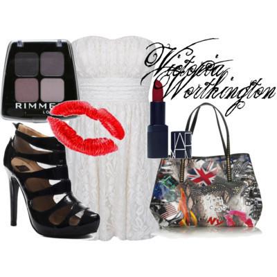 Victorie Worthington 1st Day