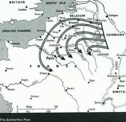 an explanation on how the schlieffen plan was meant to work The schlieffen plan was the german plan of attack designed to defeat france quickly and then turn on russia it was intended to avoid a war on two fronts however, the plan was based on a number of assumptions, and these turned out to be flawed it was thought that russia would take at least six.