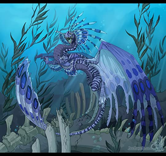 UnderWater Dragon Pictures, Images and Photos