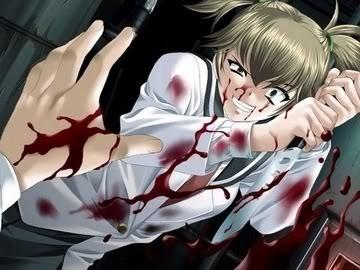 Crazy Anime Girl