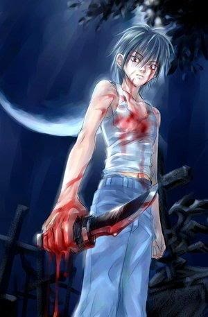 Anime insane killer guy Pictures, Images and Photos