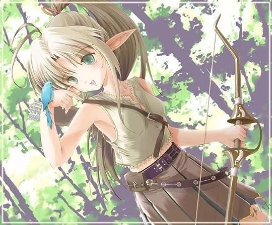 anime girl bow