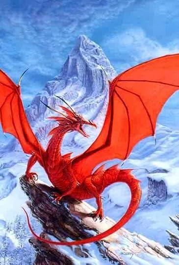 Red Beautiful Dragon