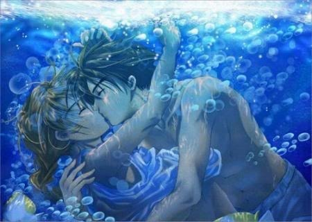 male anime water Pictures, Images and Photos