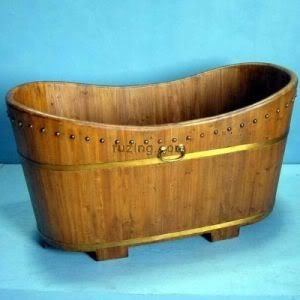 Chinese wooden bathtub