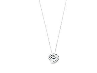 A little silver heart necklace Pictures, Images and Photos