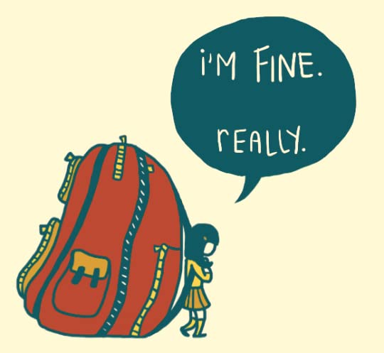 I'm Fine Really by Kate Leth