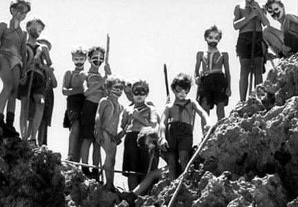 mob mentality in lord of the flies