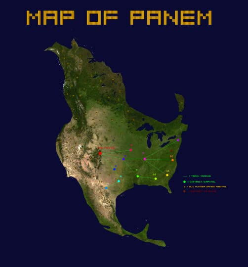 Hunger Games Trilogy - Speculation: District Locations ...