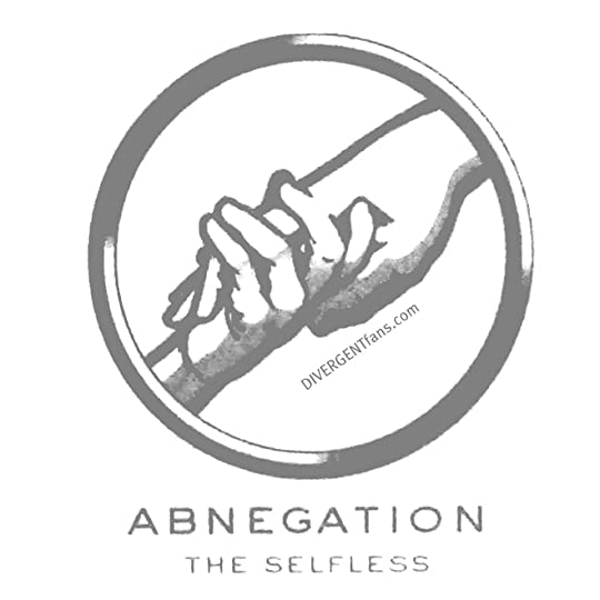Abnegation Faction symbol - grey