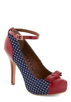 Blue Ribbon Shoe