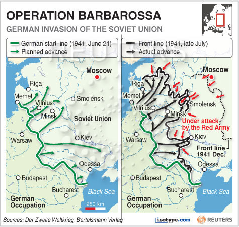 """an introduction to the history of operation barbarossa in world war two History of the chinese war strategy the pla has been undergoing the """"strategic transition"""" from preparing for an """"early, total and nuclear war"""" in 1985 to a """"local and limited war"""" published: tue, 19 dec 2017."""