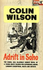 Colin Wilson-Adrift In Soho-Pan X297-1964