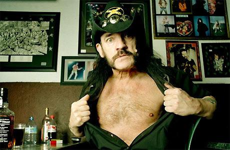 It's Lemmy from Motorhead!