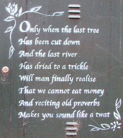 Banksy Proverbs
