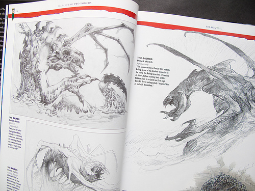Lord Of The Rings Art Book