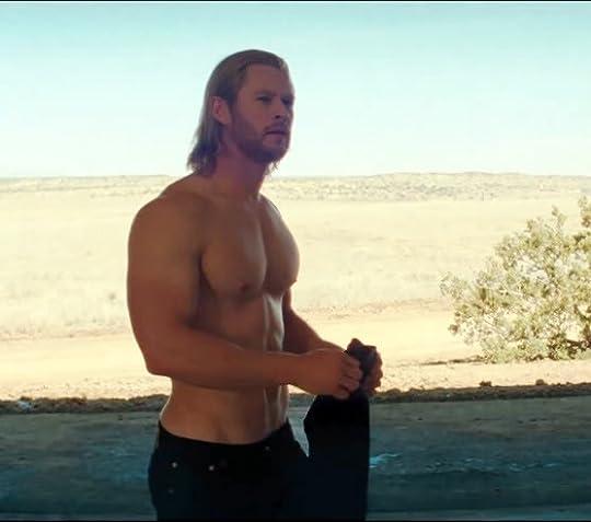 Shirtless GAWD