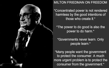 milton friedman capitalism and freedom essay