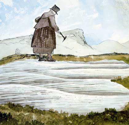De la Beche Portrait of Mary Anning