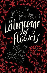 Flowery book jacket