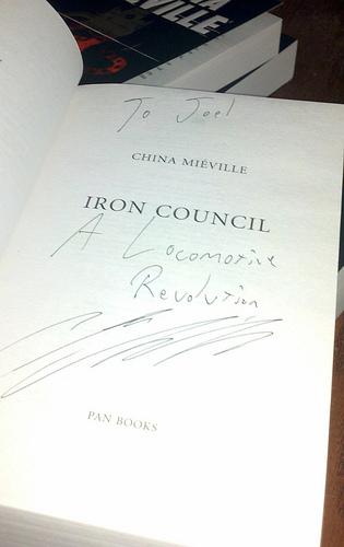 iron council.