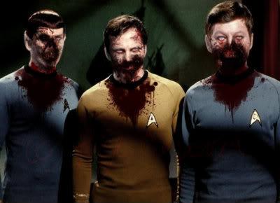 Kirk Spock McCoy Zombie