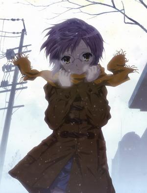 Haruhi chose the wrong moe girl.