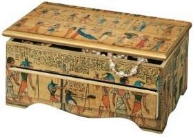 Egyptian rectangular box