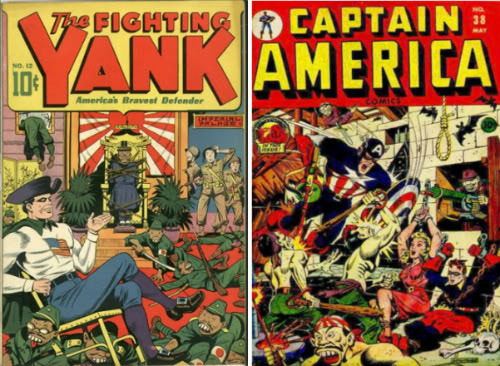 """comics propaganda during wwii The comic book was not thoroughly introduced into american pop culture until the late 1930""""s however, during wwii, captain america and superman comic books were selling more than some newspapers23 the way in which the creators of these characters were able to use the booming comic book industry is a testament to how these stories can be."""