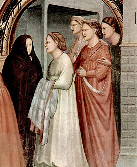The Meeting at the Golden Gate (detail), Giotto di Bondone