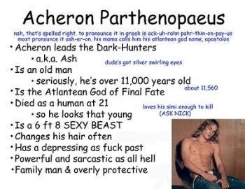Acheron Dark Hunter 14 By Sherrilyn Kenyon