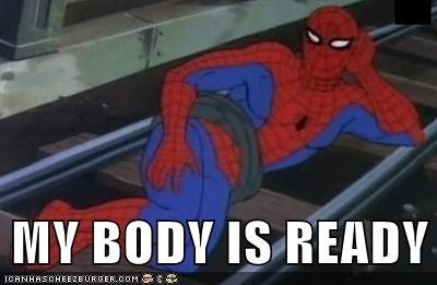 Spiderman's Body is ready