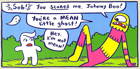 Johnny Boo: The Best Little Ghost in the World by James Kochalka