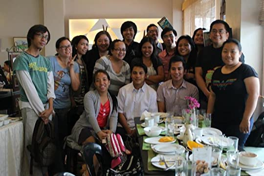 Goodreads Filipino Group - Face to Face Book Discussion # 3 (Photo c/o Kwesi)