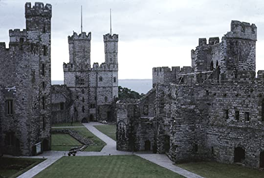 Caernarvon. I would live there if 13th century wasn't so unsanitary