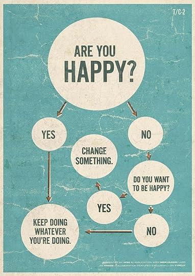 happy/