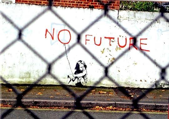 Banksy no future