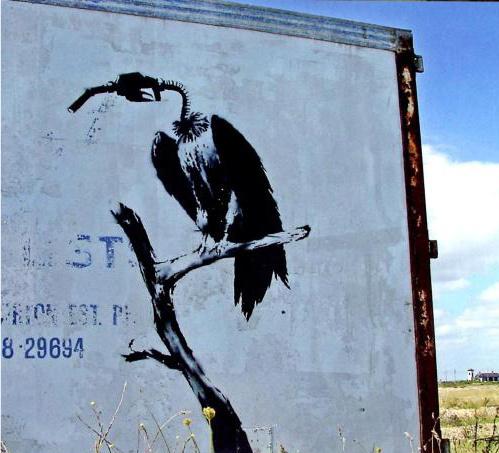 Banksy petrol vulture