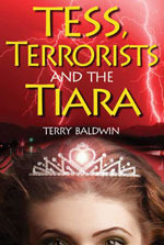 cover of tess, terrorists and the tiara