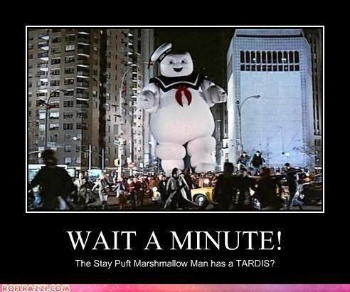 Stay Puft TARDIS